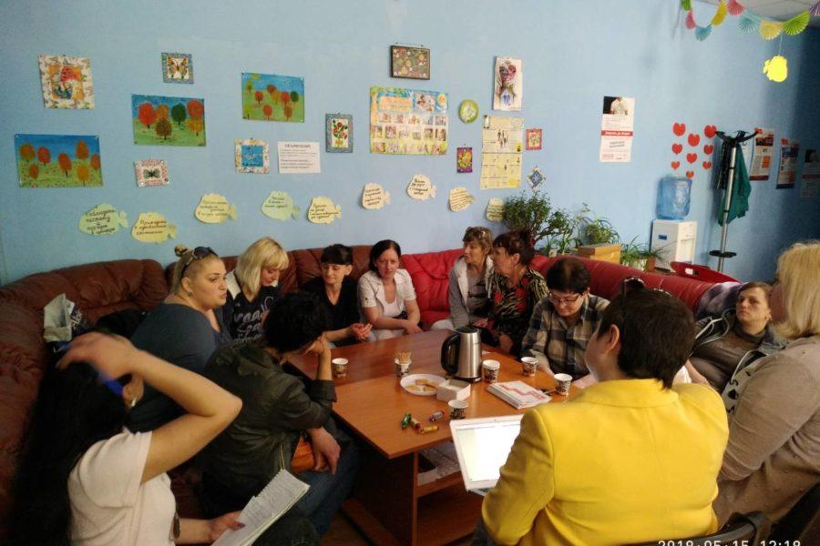 Візит в Донецьку область в рамках адвокаційной кампанії щодо захисту прав ЖЖН