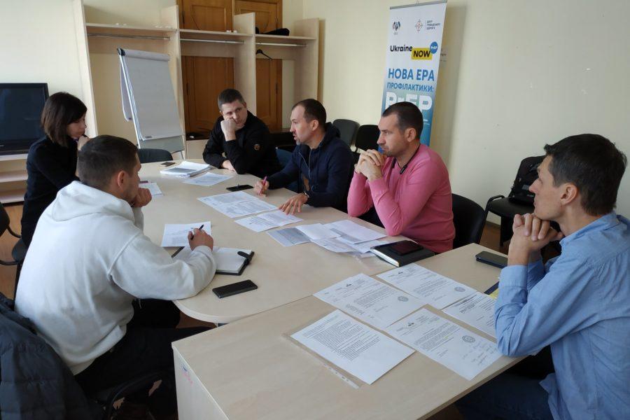 Системні проблеми в реалізації програми ЗПТ обговорювали в Центрі громадського здоров'я