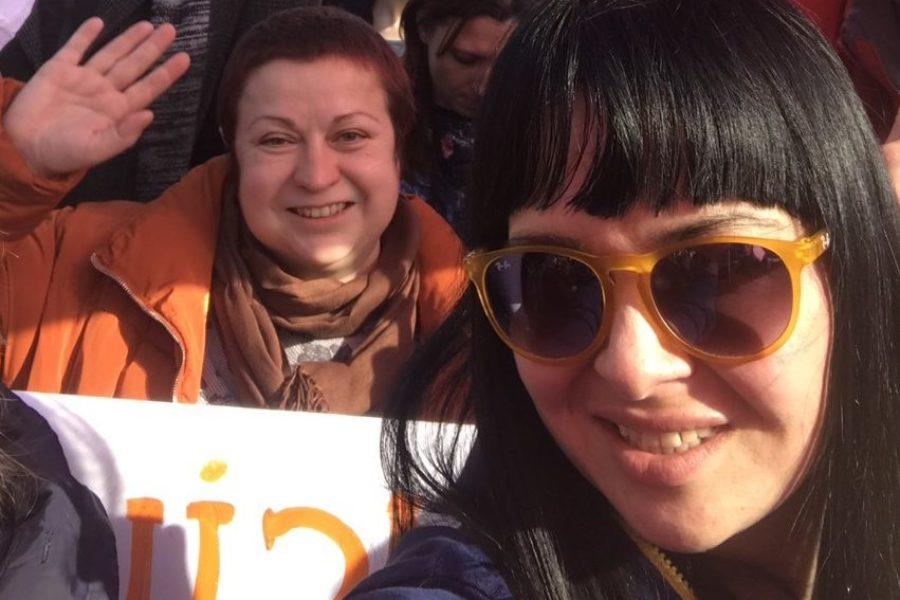 """Участь активісток Благодійного Фонду """"Надія та Довіра"""" та ВО """"ВОНА"""" в Марші жінок 8 березня"""