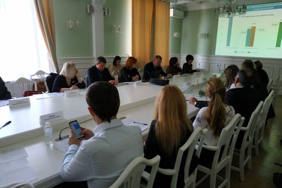 Участь в Київській міській координаційній раді з питань протидії туберкульозу та ВІЛ-інфекції