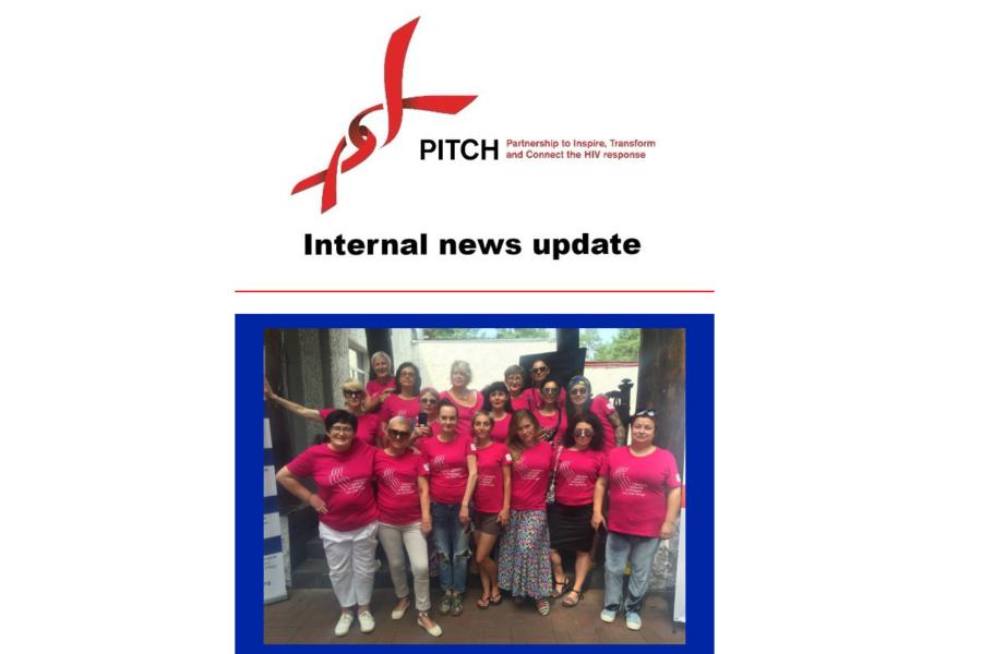 Інформація про тренінг для жінок потрапила на обкладинку даджеста PITCH