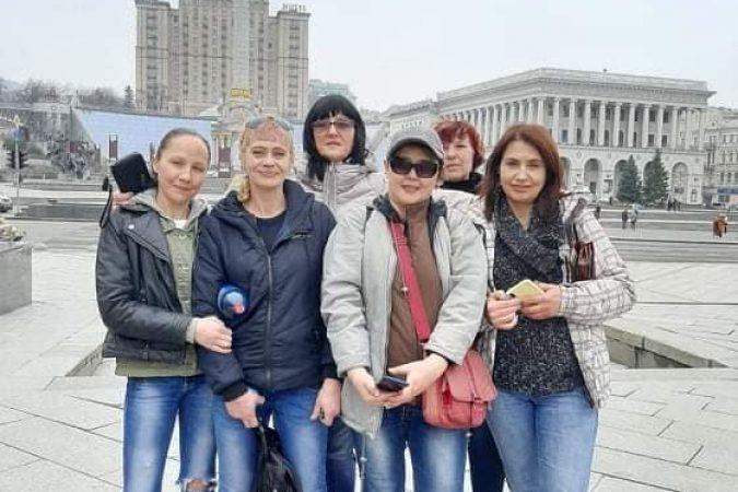 """Активістки Всеукраїнського об'єднання наркозалежних жінок """"ВОНА"""" взяли участь у Марші жінок"""