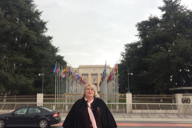 """Яніна Стемковська, регіональна координаторка ВО """"ВОНА"""", виступила на закритій сесія Комітету ООН"""