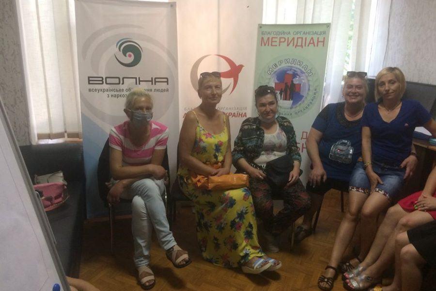 Зустріч ініціативної групи в Полтаві напередодні Всесвітнього Дня боротьби з вірусними гепатитами