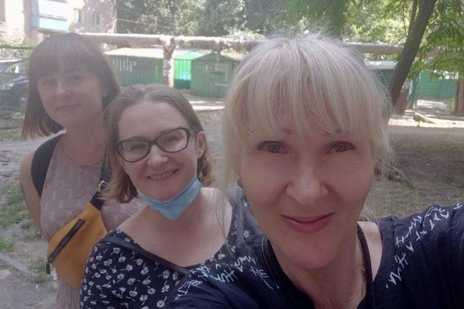 Зустріч з представницями партнерської організації в Одесі для протидії домашньому насильству