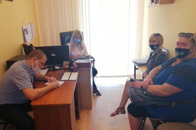 Зустріч зі старшим інспектором з особливих доручень відділу уповноважених з контролю за дотриманням прав людини в поліцейській діяльності ( з дислокацією в Полтавській області) Управління дотримання прав людини Національної поліції
